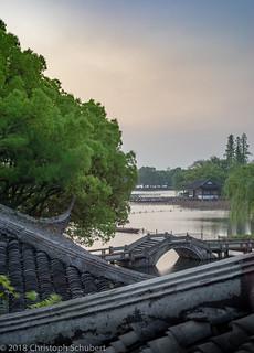 Sunrise over the lake (April 7th)