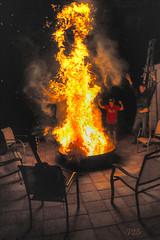 Primitive Ritual (lloydboy52) Tags: primitiveritual primitive ritual rite fire bonfire christmastree burn burning flames firepit ceremony mithra mithralives night nightlights party celebration