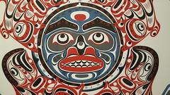 Salmon Moon (Mamluke) Tags: tomhunt hunt salmonmoon 2007 serigraph art artwork museum mamluke salem oregon salemoregon halliefordmuseumofart hallieford kwakwakawakw arte kunst 芸術 gallery museo musée 博物館