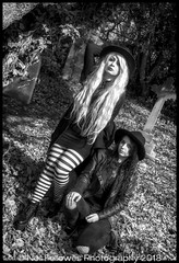Lauren and Maria, April 2018 (Neil Fellowes) Tags: neilfellowes manof2worlds neilfellowesphotography photoshoot modelshoot greatyarmouth norfolk laurenpeace mariaecxtasy alternativemodels gothic canon 50d 24mmlens 50mmlens lightroom nikcollection