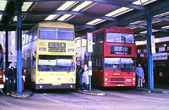 Slide 117-10 (Steve Guess) Tags: hounslow london england gb uk bus regional transport buslines lenwright dms daimler fleetline route81 mcw metrobus ghv36n b166wul