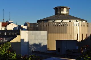 Rotonde du Teatro Circo Price (2002-2007), Ronda de Atocha, 35, Embajadores, Madrid, Castille, Espagne.