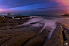 Roques planes (JesusLobato) Tags: largaexposicion amanecer roquesplanes rocas girona nikond3100 beach filtros lucroit nd10