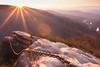 Chained Rock Sunrise (David A. Burkart) Tags: chained rock sunrise bellcounty kentucky usa pine mountain state resort park pineville spring cumberland appalachian nature
