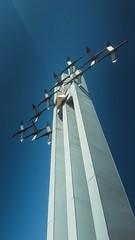 "The Monument ""Cranes"" (QualCore) Tags: саратов россия паркпобеды монумент памятник втораямироваявойна провинция глубинка синий небо saratov russia blue sky bluesky"