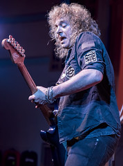 I Only Party With The Best (acase1968) Tags: dave meniketti yt rogue theatre concert live nikon d750 tamron 2470mm f28 grants pass oregon sf bay area hard rock denim jacket shirt patch