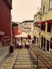 Dans les rues de Lisbonne (MarieGzn) Tags: lisboa lisbonne travel voyage city pavé beautiful
