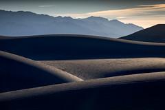 Dark Dunes (Kirk Lougheed) Tags: california deathvalley deathvalleynationalpark mesquitedunes mesquiteflat usa unitedstates dune dunes landscape nationalpark outdoor park sand sanddune sanddunes