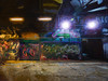 The Tag Tunnel (Steve Taylor (Photography)) Tags: art abstract digital graffiti mural streetart tag uk gb england greatbritain unitedkingdom london lensflare texture shadow leakestreet tunnel moist