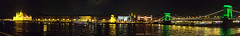 Budapest at night (Szemeredi Photos/ clevernails) Tags: hungary budapest river night parliment chainbridge riverside panorama city weekend visit memory spring rain reflection color light sky danube