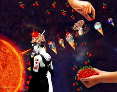 Refreshing Ideas - By SilviAne Moon. (Silviane Moon) Tags: cherry solarsystem stars sorvetes arte digitalart digitalcollage digitalpainting estrelas icecream photomanipulation planetas planets planetspace space surreal surrealart surrealism surrealismo surrealistic universe universo surrealfantasy art silvianemoon silvianemoonart