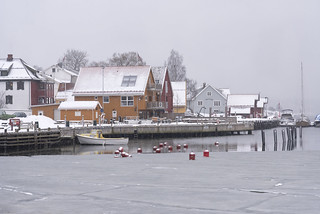 Winter in Son, Norway