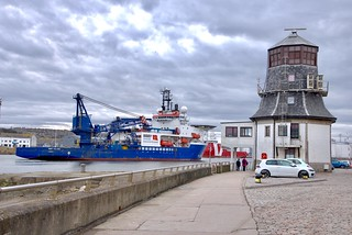 Bibby Polaris - Aberdeen Harbour Scotland - 21/3/2018