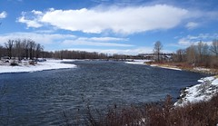 Bow River Hiking YYC Spring (Mr. Happy Face - Peace :)) Tags: yyc calgary alberta spring art2018 scenery albertabound canada
