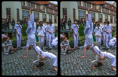 Warm up 3-D / CrossEye / Stereoscopy / Chdk/SDM (Stereotron) Tags: saxony sachsen dresden elbflorenz dance akrobatik athletic drums percussion festival brazilian culture europe germany deutschland crosseye crosseyed crossview xview cross eye pair freeview sidebyside sbs kreuzblick 3d 3dphoto 3dstereo 3rddimension spatial stereo stereo3d stereophoto stereophotography stereoscopic stereoscopy stereotron threedimensional stereoview stereophotomaker stereophotograph 3dpicture 3dglasses 3dimage canon ixus960 sdm stereodatamaker tonemapping