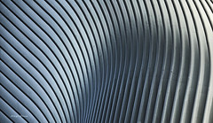 shapely (albyn.davis) Tags: shapes light shadows curves abstract architecture architecturalabstract color blue nyc newyorkcity manhattan building detail calatrava