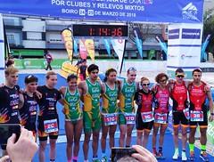 Triatlón Clavería Cto España Duatlón Clubes Relevos Mixtos Boiro 14