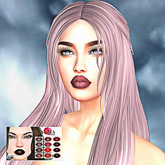 LuceMia - ALMA Makeup (MISS V♛ ITALY 2015 ♛ 4th runner up MVW 2015) Tags: almamakeup event theavenue makeup fall lip creations fashion blog beauty exclusive night white colors hud models lucemia