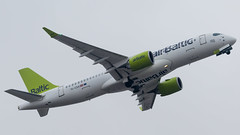 MXP - Air Baltic Bombardier CS300 YL-CSA (Eyal Zarrad) Tags: airbaltic airclippertour cs300 limc milano ylcsa aircraft airport aviation airline airlines aeroplane avion eyal zarrad airplane spotting avgeek spotter airliner airliners dslr flughafen planespotting plane transportation transport photography aeropuerto 2018 canon 7d mk2 jet jetliner milan malpensa italy airside tour