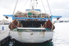 fishership (alegalia1988) Tags: trapani sicilia sicily italy italia blue sea mare fish pesce old vecchio italiano legno wood cloudy nuvoloso