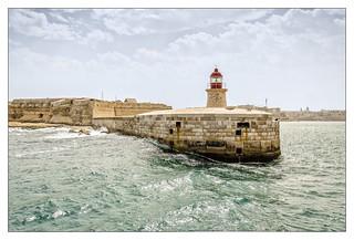 Malta; Valletta Harbour Entrance
