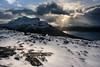 Rays and Loch (gerainte1) Tags: scotland torridon winter mountains colour snow sea sky
