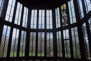 Looking out from the Great Hall