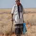 Somali tribe elder with red beard, Awdal region, Zeila, Somaliland