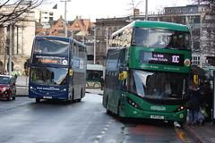 2018 04 03_7176 (djp3000) Tags: nottingham nct nctgreenline nctnavyline enviro enviro400cbg enviro400 bus transit publictransit publictransport nctroute10 nctroute1 407 643