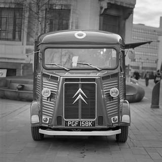 Vintage Coffee Van