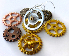 Sprong! (arbyreed) Tags: arbyreed macromondays circles gears round brass copper close closeup