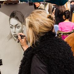 Le portrait de la jeune femme (Daniel_Hache) Tags: lumiere montmartre paris portrait