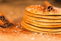 Cinnamon Pancake (Theo Crazzolara) Tags: pancake pancakes dessert delicious sweet food foodporn pan cake cinnamon sugar pfannkuchen nachspeise süs gorgeous exquisite macro closeup stilllife
