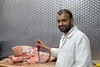 Latif Mohammed, Butcher, in Zaytouna Greengrocers (Alistair_Images) Tags: 60d portrait glasgow shop shopkeeper butcher