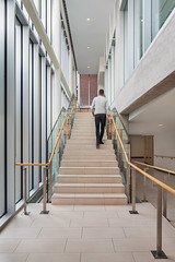 Staircase 01 (Michael Muraz Photography) Tags: 2016 canada gta northamerica on ontario sac standrewscollege toronto world architecture aurora building college commercial highschool interior interiordesign staircase stairs stairwell ca