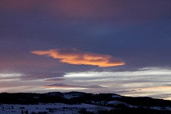 Evening sky. (janrs7) Tags: eveningsky sky cloud floating january winter skyview norge norway nordiclight nordiclandscape