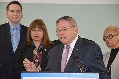 Menendez Visits Adult Autism Center, Unveils Autism CARES 2019