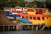"Barges ""race"", Mekong river, Vietnam (Roberto Bendini) Tags: race boat transport river mekong barge vietnam hanoi ho chi minh saigon"