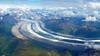 Alaskan Glacier (Denali in background) (PDX Bailey) Tags: aerial landscape glacier alaska mountain sky denali mount