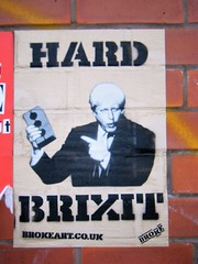 Manchester street art = Boris Johnson...hard brexit (rossendale2016) Tags: saving weight lightweight loght ventilation airbrick air upsetting annoying thinking without out speak loud noisy unplanned unthinking aggressive confident self secretary foreign inner mays theresa cabinet hole eu leaving exiting holding brick man government exit europe parliament member mp johnson boris brexit hard art street manchester