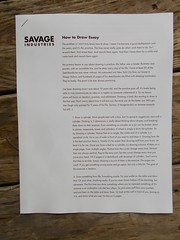 """Adam Savage explains how to draw (brucesflickr) Tags: """"adam savage"""" """"savage maker box"""" """"quarterly co"""" tools """"model making"""" cardboard """"special fx"""" drawing crafts"""