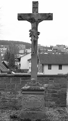 18th-century crucifix (stanzebla) Tags: elfershausen sculptures skulpturen 18thcentury 18jahrhundert