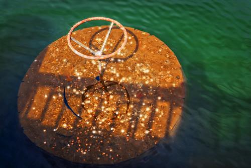 Bass Pond Water Wheel Valve (Biltmore Estate, Asheville NC)