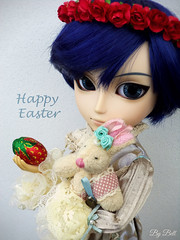 Feliz Páscoa!! (♪Bell♫) Tags: taeyang kaito arkell vicentin happy easter feliz páscoa doll groove