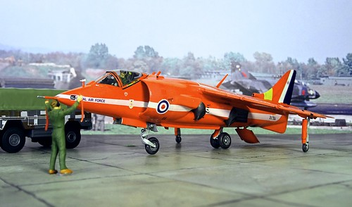 RAF HARRIER GR3-1 SQUADRON  BOOKMARK