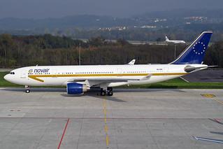 Novair Airbus A330-223 SE-RBF ZRH 25-10-03