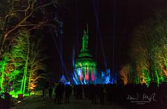 _T1A4958 Der Hermann leuchte - 6t (idunavision) Tags: detmold light art video event night blue hour