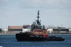 Justice (jelpics) Tags: justice tug tugboats boat boston bostonharbor bostonma harbor massachusetts ocean port ship sea vessel