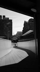 Wednesday (Darryl Scot-Walker) Tags: london docklands streetphotography silhouette street londonstreetphotography streetphotographers blackandwhite bw monochrome