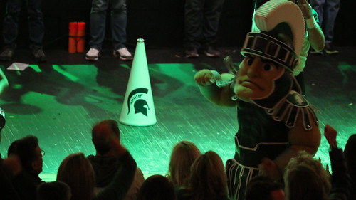 Detroit Spartan Pep Rally, March 2018